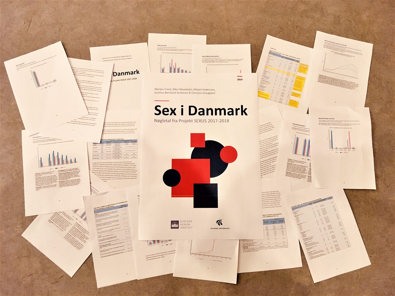 Billede af SEXUS-rapporten